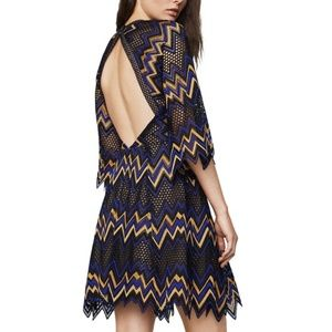NWT BCBGMaxAzria Selena Lace Halter Dress